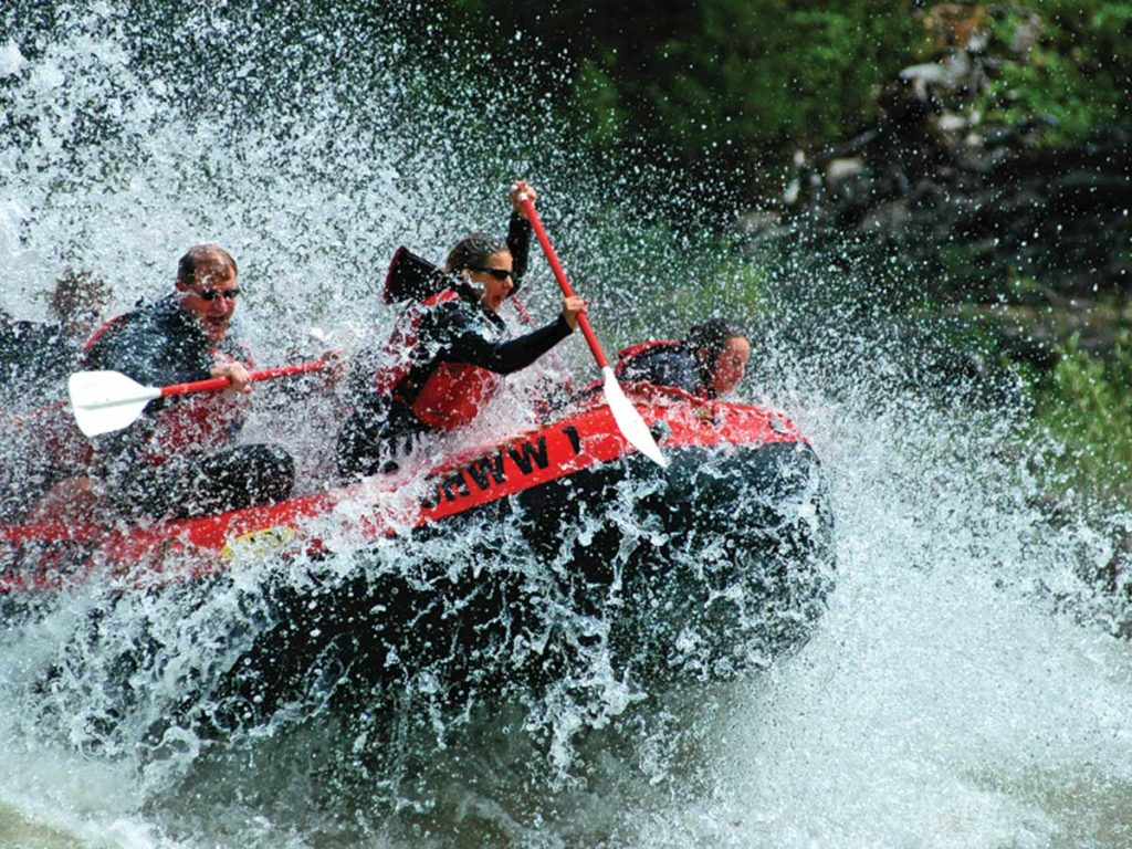 Whitewater Rafting in Jackson Hole, WY